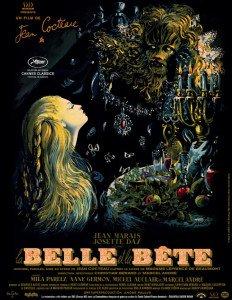 La Belle et la Bête aff